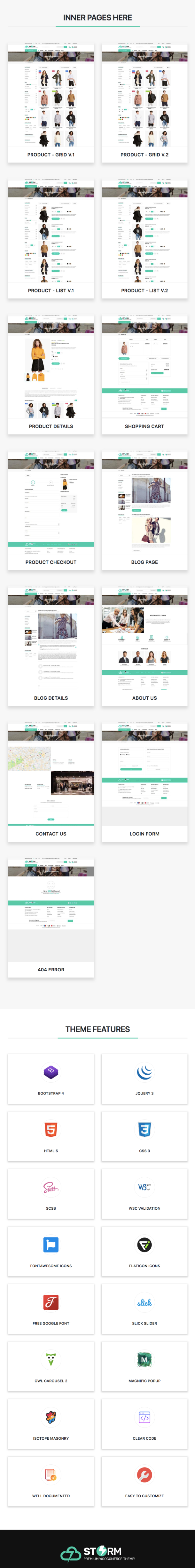 Storm - Ecommerce HTML Template - 3